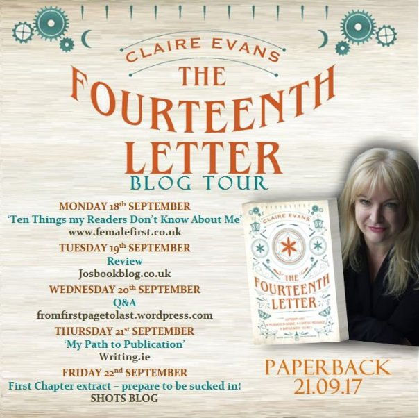 The Fourteenth Letter - Blog Tour