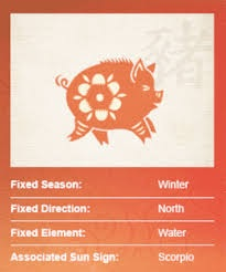 chinese pig sign