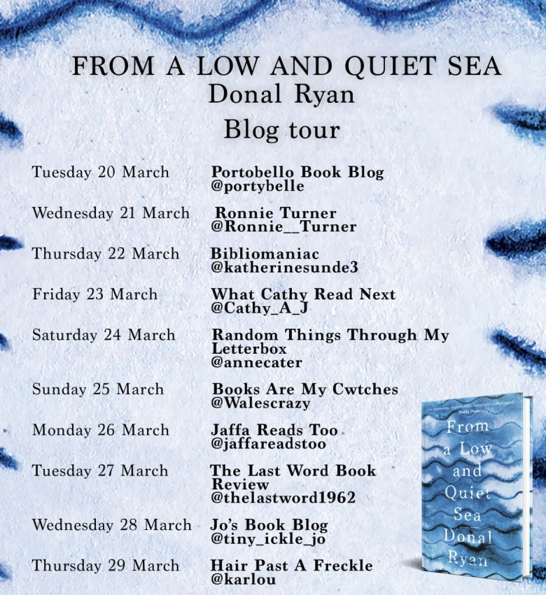 From A Low & Quiet Sea Blog Tour Poster