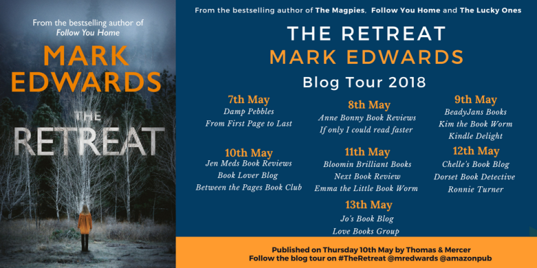 The Retreat by Mark Edwards Blog Tour banner final