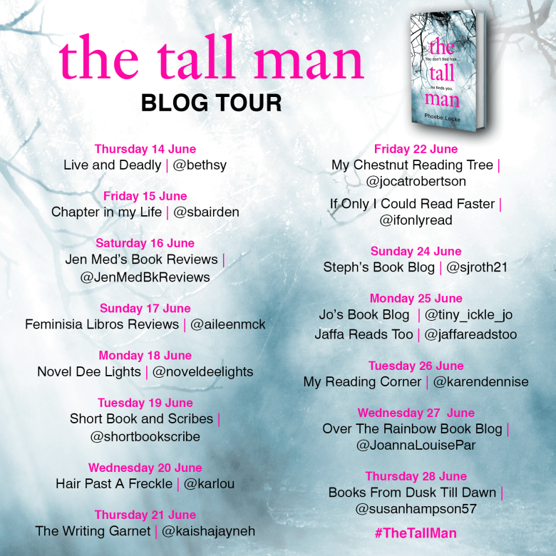 The Tall Man Blog Tour Poster