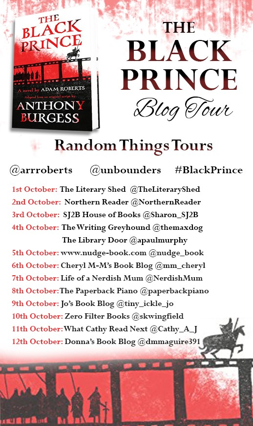FINAL The Black Prince Blog Tour Poster
