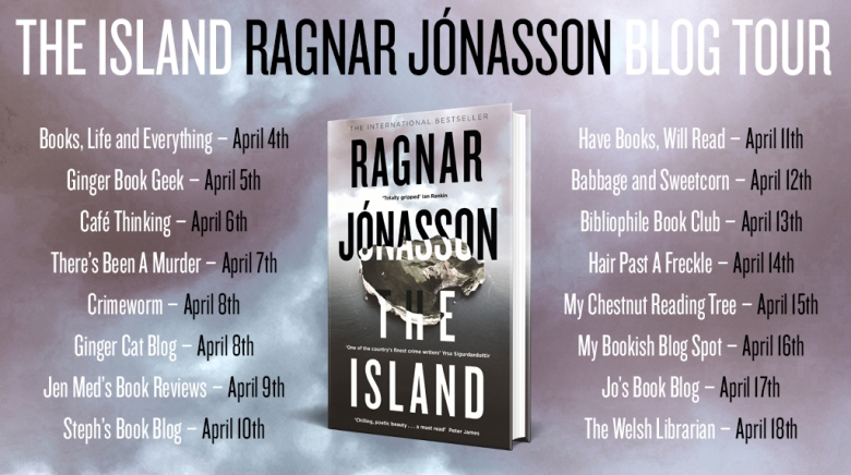 The Island Blog Tour Card