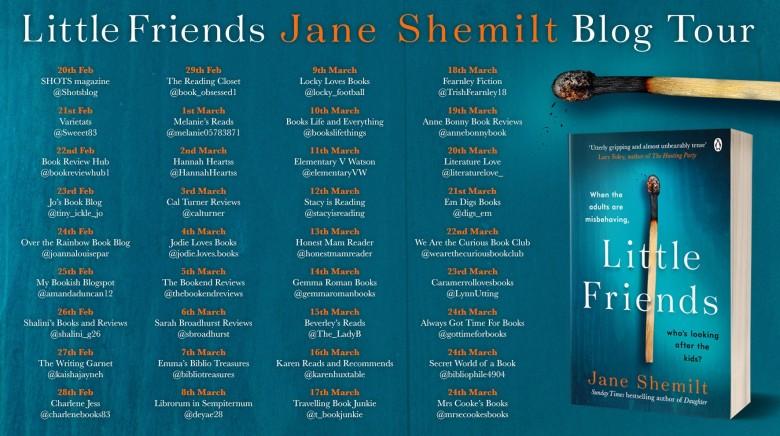 Jane Shemilt blog tour graphic