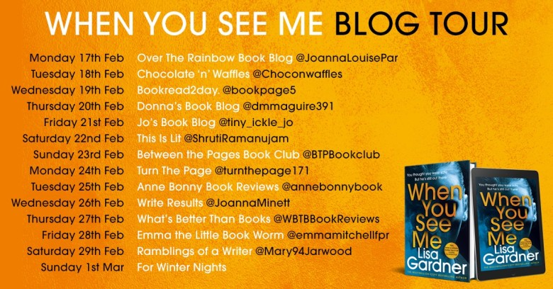 When You See Me Blog Tour Poster